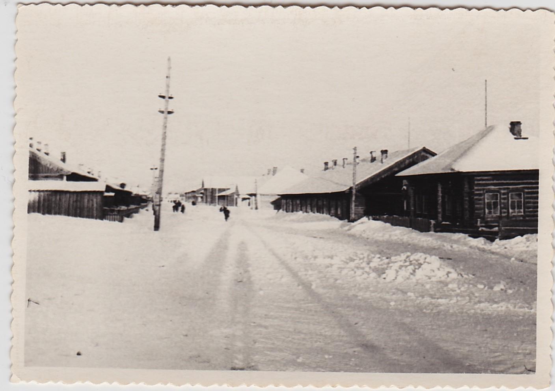 Tomskas apgabals 1949. Novonikolajevka un Baturina